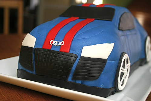 Detail of Front - Audi Cake