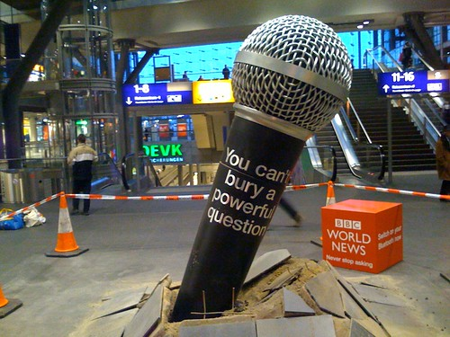 Giant Ambient Microphone Advertisement
