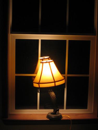 leg lamp interior