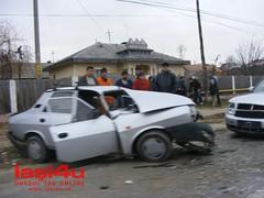 Accident rutier Dacia 1310