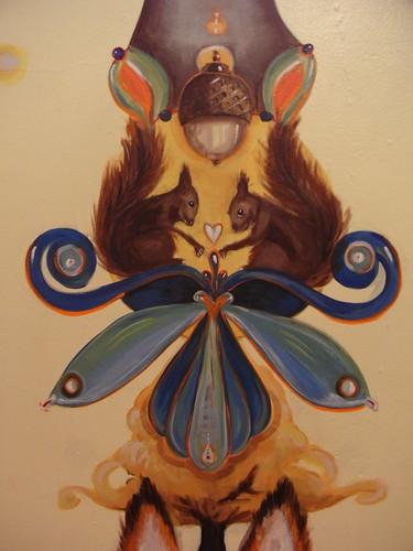 Baby Zed's Mural complete!