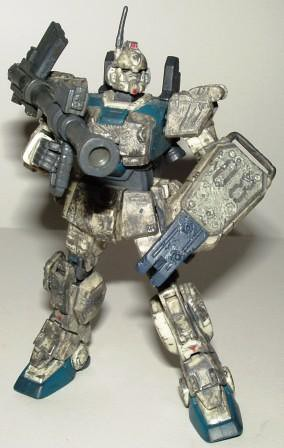 Gundam loose Scarred RX-79(G) EZ-8 a by you.