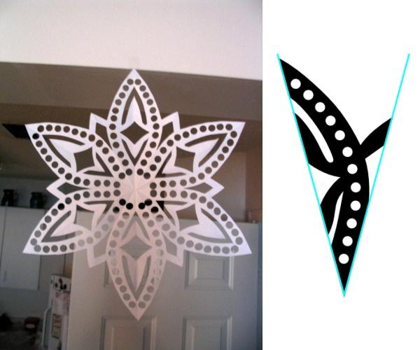 Snowflake Pattern, #5
