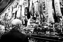 Meat Market - Barcelona, Spain by Justin Korn