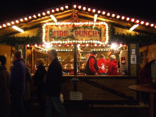 Edinburgh - German Christmas market 1