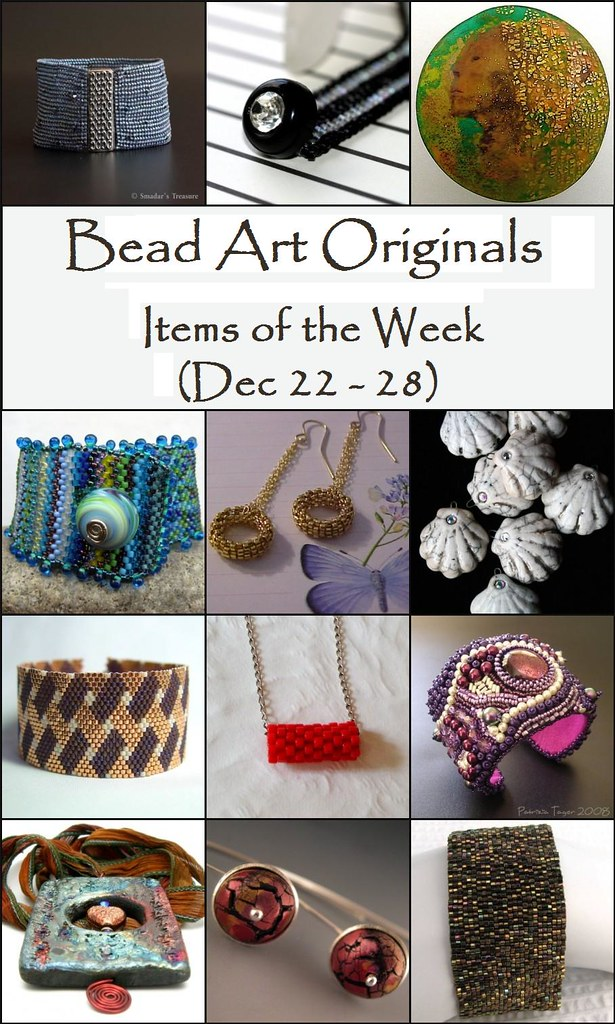 Bead Art Originals Items of the Week (12/22-12/28)