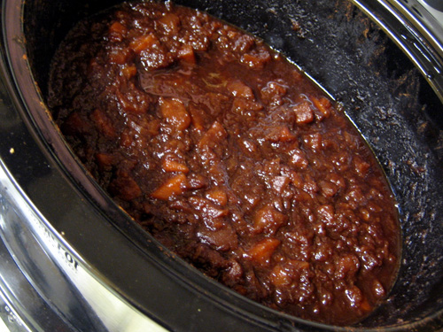 The Urban Housewife: Overnight Apple Butter & Happy Holidays!