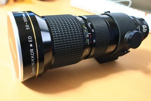 Nikon Ai-S50-300/4.5 Zoom*ED