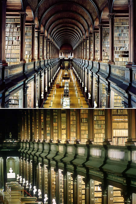 Trinity College LIbrary, AKA, The Long Room, Dublin, Ireland