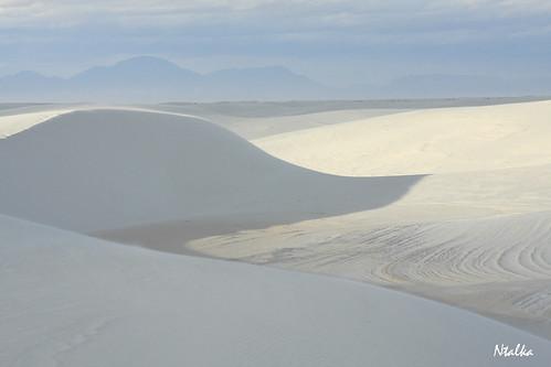 Белые пески Нью-Мексико