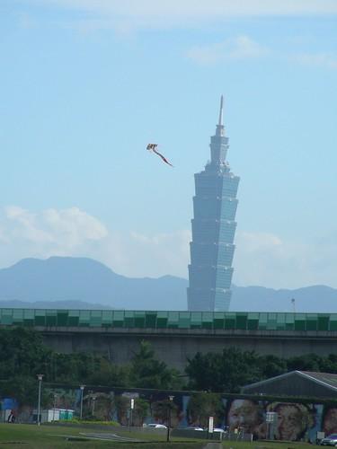 風箏與台北101