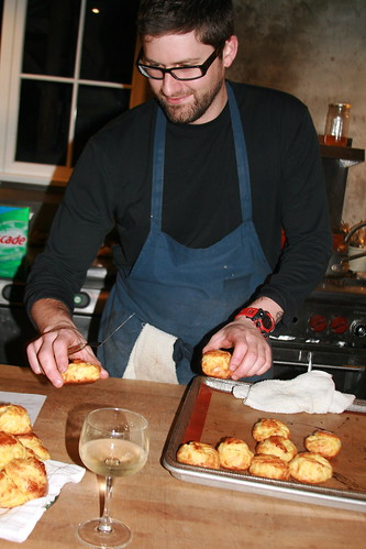 Chef Tyler Palagi and His Delicious gougères