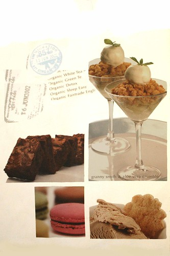 A-la-carte desserts orders