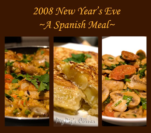 End of 2008 - A Spanish Meal