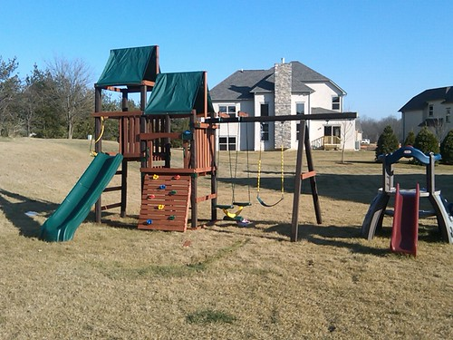 The swing set is back!