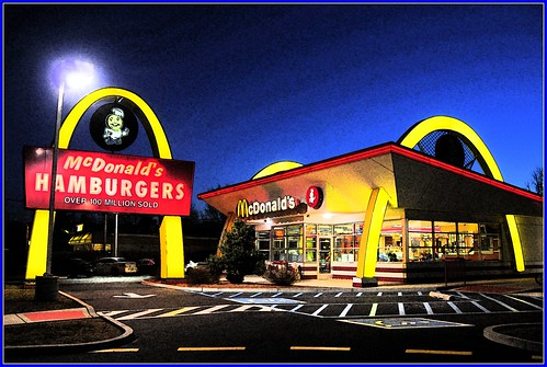 McDonalds Night Shot by Tony the Misfit.