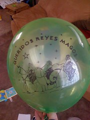 Nathan's balloon for 3 Kings' Day