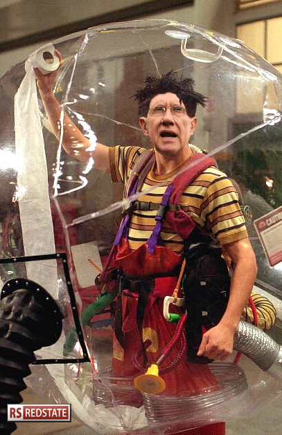 Harry Reid Bubble Boy