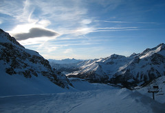 (xNstAbLe) Tags: blue italy snow ski mountains cold montagne piemonte snowboard monterosa alpi bianco piedmont alagna
