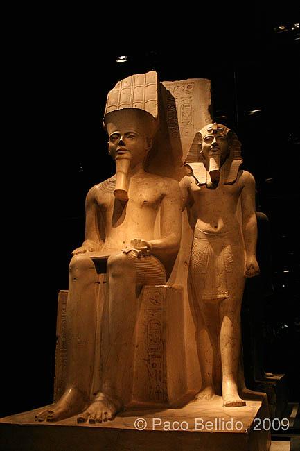 Una estatua del Museo Egizio. © Paco Bellido, 2009