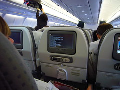 Linux on board (BrunoRodrigues) Tags: boot airbus linux tap tux reboot a330 embedded airbusa330 airbus330 tapairportugal cstol flightentertainmentsystem