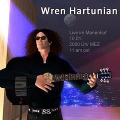 Wren Hartunian live in Concert