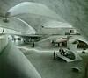 TWA terminal in NYC by Saarinen (ouno design) Tags: nyc favorite white newyork airport mod 60s thing things terminal round favourites 70s finnish curved seventies sixties saarinen twa eerosaarinen eero biomorphic ounodesign designfile