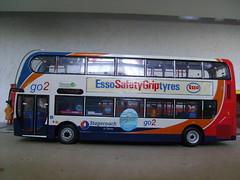 MX07HMF (jeff.day48) Tags: code3 modelbus alexanderdennis stagecoachdevon enviro400 mx07hmf