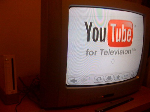 YouTube for television (beta) by francescominciotti.