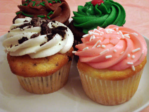 Cupcakes from The Cupcakery