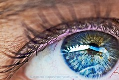 * about blue eyes * (peo pea) Tags: madrid she blue woman eye eyes pea occhio sense sensi aplusphoto