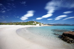 Baia Simius (LucaPicciau) Tags: sardegna ca sea summer sky italy sun holiday beach clouds relax freedom bay holidays paradise mediterranean mediterraneo nuvole mare sardinia villasimius wind south sunny resort tropical transparent sole brezza azzurro azur sud celeste tanka baia sarrabus lupi simius breez i lupi75 timiama picciau lucapicciau celestiale