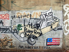 toy disses dead krakhead (ExcuseMySarcasm) Tags: street urban streetart art mi dead toy graffiti michigan detroit diss marred krakhead