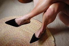DSC_0296jj (ARDENT PHOTOGRAPHER) Tags: woman sexy stockings legs muscular mature footfetish calves shoefetish veiny