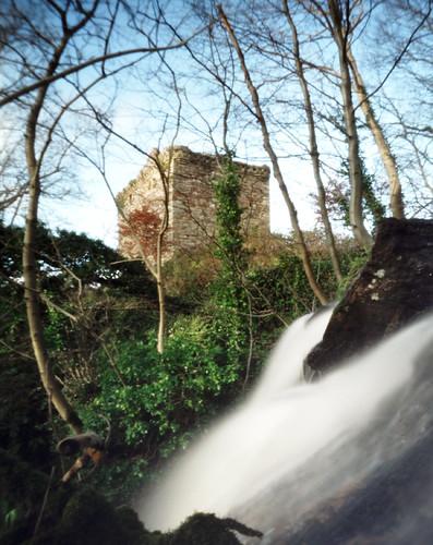 Fairlie castle pinhole 30Jan09