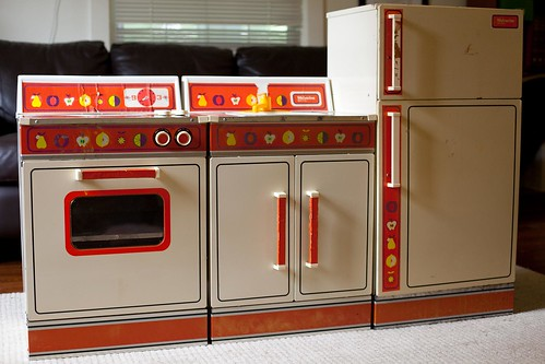 entire play kitchen from 1981