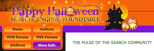 Halloween '09 at Search Engine Roundtable