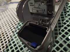 battery-memory slot