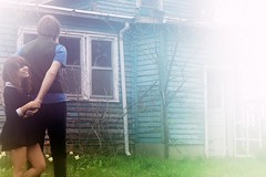 carishane (messyowl) Tags: blue house cute abandoned glow shane tint hi cari