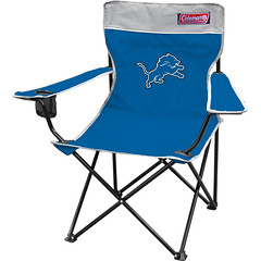 Detroit Lions TailGate Folding Camping Chair