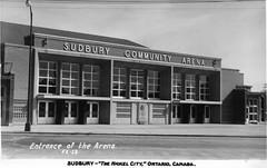 Sudbury - Community Arena C1952 (363FroodRd / 573PineSt) Tags: sudbury sudburyon