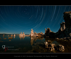 Monachie Towers (Goldpaint Photography) Tags: ca usa moon lake reflection nature water rock night landscape star nikon salt trails trail astrophotography moonlight astronomy nightsky monolake tufa startrails starrynight leevining southtufa earthandspace competition:astrophoto=2011