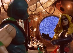 Strange Symbols Appear (Dudesnbots) Tags: lady toys action who joe doctor figure tardis gi gaga copperhead