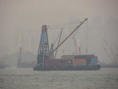 Causeway Bay, Kowloon in distance-17 (ashabot) Tags: hongkong ships pollution kowloon causewaybay harbors tankers