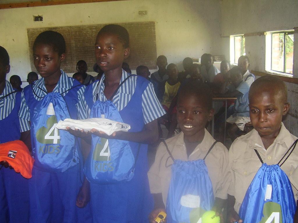 Children in Zimbabwe Start School
