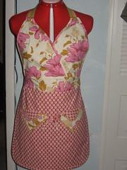 Sassy Apron (Christy Sews) Tags: sassy apron swap