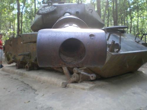 Old American Tank