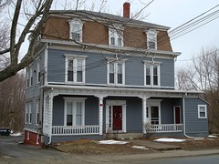 Aaron Jones House (Svadilfari) Tags: winter house building history home businessman architecture ma jones apartments antique massachusetts aaron business porch coal residence douglas lumber tenement tenements deacon secondempire clapboards dormerwindows aaronjones frenchsecondempire douglasma antiquebuilding tenementbuilding tenementhousing eastdouglas antiquehome 1800s19thcentury douglasmassachusetts douglasmass
