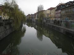 Ljubljana - Ljubljanica river (jjan9) Tags: river slovenia ljubljana oldtown riverbanks ljubljanica mesto staro staromesto
