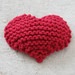 Garter Stitch Heart